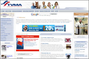 Click to visit the Texas Veterinary Medical Association website